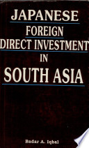 Japanese Foreign Direct Investment In South Asia