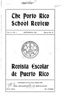 The Porto Rico School Review
