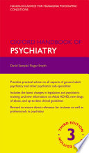 Oxford Handbook of Psychiatry Book