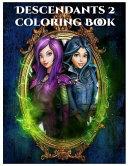 Descendants 2 Coloring Book - Disney Descendant 2 Coloring Book