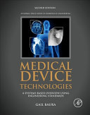 Medical Device Technologies Book