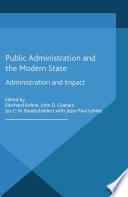 Public Administration and the Modern State
