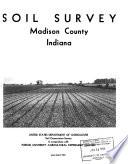 Soil Survey Madison County Indiana