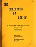 The Challenge of Design