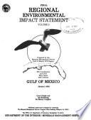 Final Regional Environmental Impact Statement  Gulf of Mexico