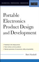 Portable Electronics Product Design and Development Book