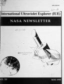 International Ultraviolet Explorer  IUE  NASA Newsletter