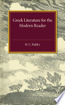Greek Literature for the Modern Reader