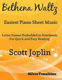 Bethena Waltz Easiest Piano Sheet Music Pdf/ePub eBook