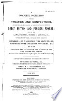 Hertslet's Commercial Treaties