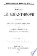 Molière's Le misanthrope