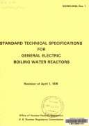 Standard Technical Specifications for General Electric Boiling Water Reactors