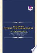 A Text Book On Patient Care Management Book PDF