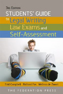 Students  Guide to Legal Writing and Law Exams