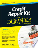 """Credit Repair Kit For Dummies"" by Steve Bucci"