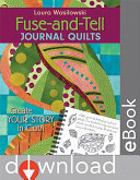 Pdf Fuse And Tell Journal Quilts Telecharger