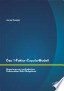 Das 1-Faktor-Copula-Modell: Bewertung von synthetischen Collateralized Debt Obligations