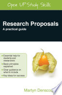 Research Proposals Book