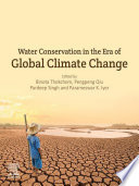 Water Conservation in the Era of Global Climate Change Book