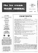 Ice Cream Trade Journal