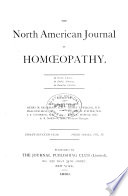 North American Journal Of Homoeopathy Book PDF