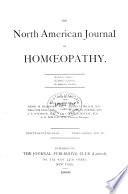 North American Journal of Homoeopathy Book