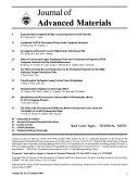 Journal of Advanced Materials