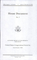 United States Congressional Serial Set, Serial No. 14949, House Document No. 1, Economic Report of the President, February 2005