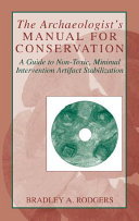 The Archaeologist s Manual for Conservation
