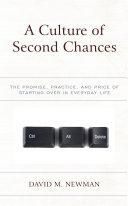 A Culture of Second Chances