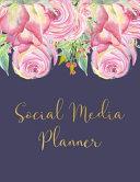 Social Media Planner Book