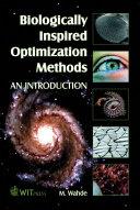 Biologically Inspired Optimization Methods Book