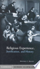 Religious Experience  Justification  and History Book PDF