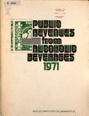 Public Revenues From Alcoholic Beverages Book PDF