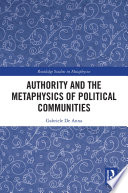 Authority and the Metaphysics of Political Communities