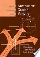 Autonomous Ground Vehicles Book PDF