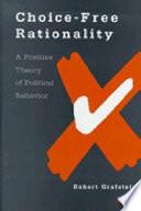 Choice Free Rationality