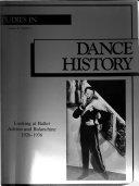 Studies in Dance History