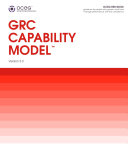 GRC Capability Model  Red Book  in Paperback