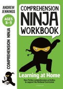 Comprehension Ninja Workbook for Ages 8 9