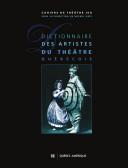 Pdf Dictionnaire des artistes du théâtre québécois Telecharger