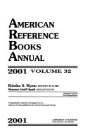 American Reference Books Annual - Band 32 - Seite 127