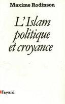 Pdf L'Islam, politique et croyance Telecharger