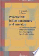 Point Defects In Semiconductors And Insulators Book PDF
