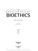 Encyclopedia Of Bioethics