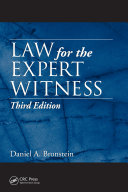 Law for the Expert Witness