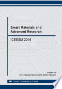Smart Materials and Advanced Research Book