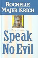 Speak No Evil Book