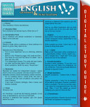 English Grammar   Punctuation  Speedy Study Guides