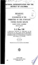 National Representation for D C  Book PDF